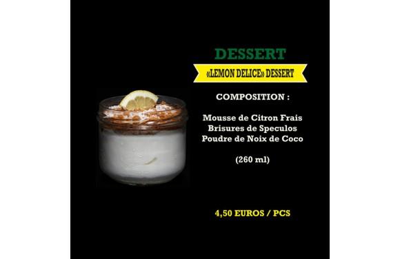 Dessert Lemon Delice