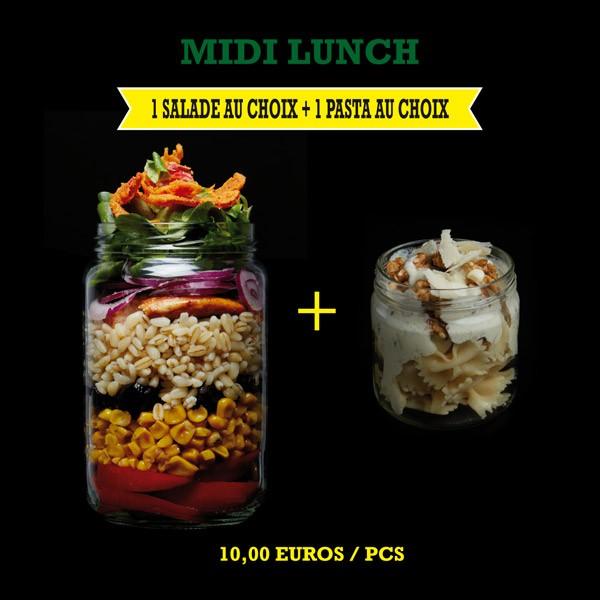 Menu Midi Lunch Salade + Pasta