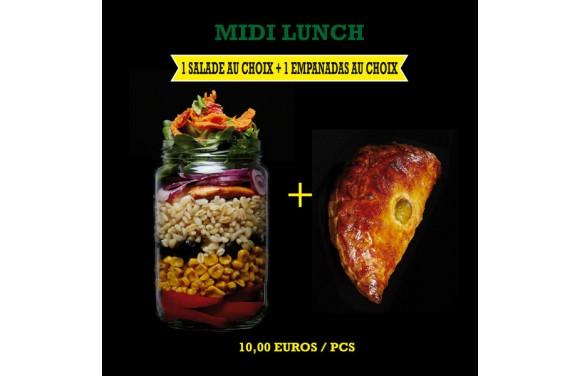 Menu Midi Lunch Salade + Empanadas