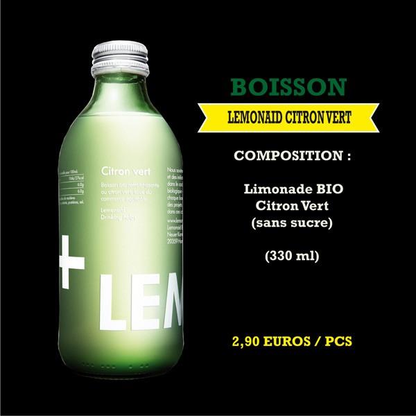Lemonaid citron vert