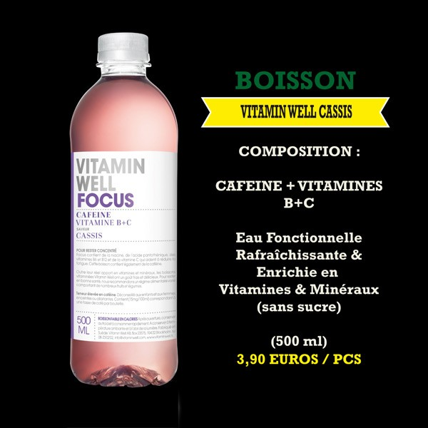 Vitamin Well cassis