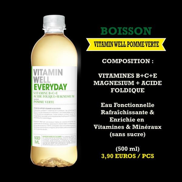 Vitamin Well pomme verte