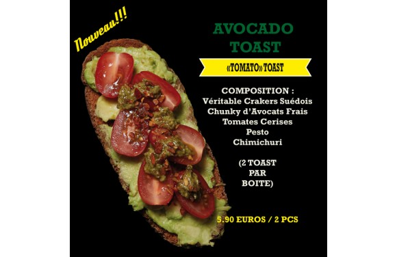 Avocado Toast Tomato