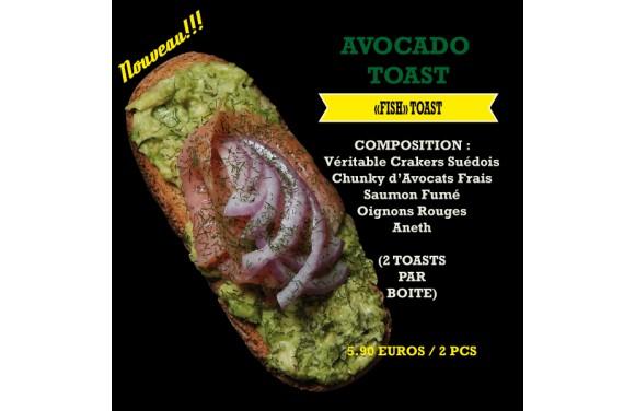 Avocado Toast Fisch
