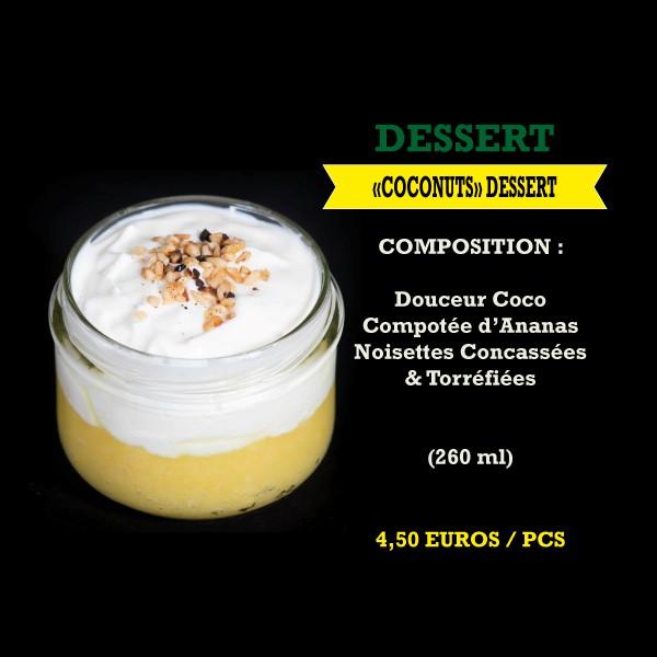 Coconuts Dessert