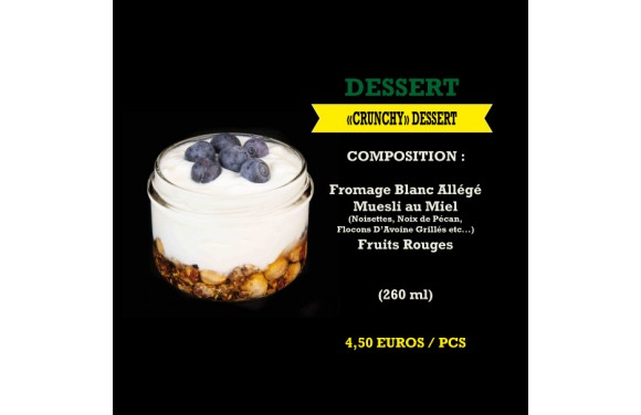 Crunchy Dessert